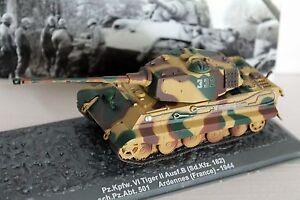 1/72 Pz.Kpfw. VI Tiger II Ausf.B (Sd.Kfz. 182) WWII  / IXO