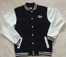 Kids Navy Black Casual Baseball Jacket By 2G Age 11-13yrs (Cert WRAP Apparel)