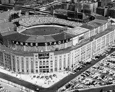 1961 New York YANKEES STADIUM Glossy 8x10 Photo Vintage Aerial Print Poster