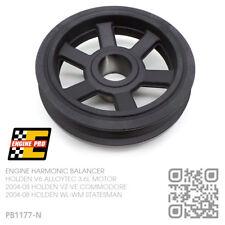 ENGINE PRO HARMONIC BALANCER V6 ALLOYTEC 3.6L [HOLDEN WL-WM STATESMAN/CAPRICE]