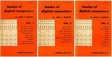 Basics Of Digital Computers Vol. 1-3, Murphy (1958) - Cd