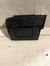 VW Golf MK7 Centre Air Vents & Radio Surround Hazard Switch With Sat Nav Screen