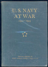 US Navy at war 1941 - 1945 Official reports Admiral E. J. King MARINE EO 1946