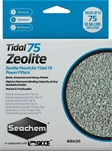 Seachem Laboratories 6514 Tidal 75 Zeolite 250 ml  Pouch Power Filter