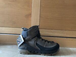 Ecco Mens Biom Venture Tr Mid Rise Yak Lea GORE-TEX Walking Hiking  Boots 9.5UK