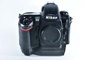 Nikon D3 12MP Digital SLR Camera Body - Full Frame FX (Only works with G lenses)