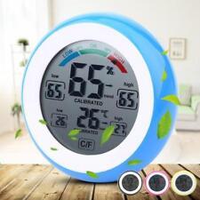 Digital Thermometer Hygrometer Humidity Temperature Monitor Meter Gauge