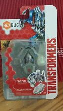 ~New in Pkg ~ Hexbug~Transformers Nano SILVER KNIGHT~Robotic Toys~