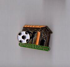 Pin's football / Supporters du club RC Bergues (Nord Pas de Calais)