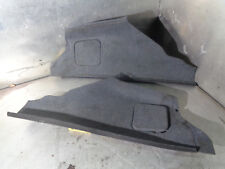 AUDI TT 8N 98-06 MK1 225 Roadster interno Boot finiture nero 8N7863879D/8N7863880D