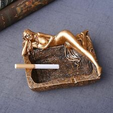 Sexy Woman Design Resin Ashtray Creative Cigarette Holder Office Home Decoration