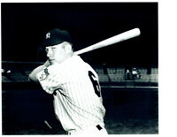 1951 MICKEY MANTLE WEARING NUMBER 6 NEW YORK YANKEES  8X10 PHOTO  BASEBALL