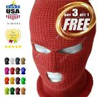 """3 Hole Full Face Mask Ski Mask Winter Cap Balaclava Outdoor Beanie Tactical Hat <br/> 🧡""""ADD 4 ITEMS"""" in your cart 🧡You will pay for 3 only!"""