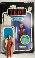 Star Wars Vintage Princess Leia Bespin 1980 W/Cardback Kenner Action Figure