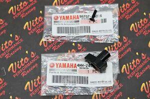 NEW OEM factory Yamaha YFZ450 fuel gas tank PETCOCK KNOB + SCREW 2004-2009