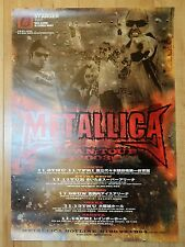 2003 Metallica - Japan Tour Original Promo Concert Poster