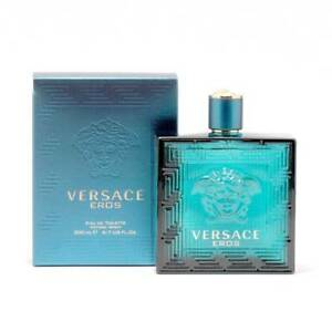 Versace Eros Cologne by Versace, 6.8 oz EDT Spray for Men NEW