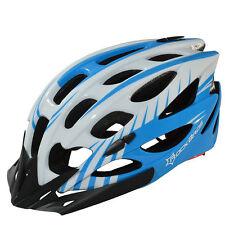 Rockbros Cycling Helmet Road Bicycle MTB White Blue Helmet Size M/L 57cm-62cm