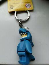GENUINE LEGO SHARK SUIT GUY KEYRING