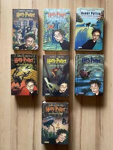 Harry Potter Bücher 1-7 komplett gebundene Ausgabe J. K. Rowling Buch Sammlung