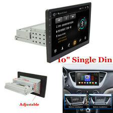 """10"""" Single Din Android 8.1 Car Stereo Radio GPS Navigation WiFi Quad-Core 1G+16G"""