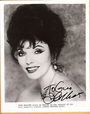 Joan Collins-signed photo-28 ab - JSA Coa