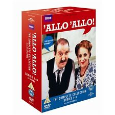 "ALLO ALLO COMPLETE SERIES COLLECTION 16 DISCS DVD BOX SET ""NEW&SEALED"""