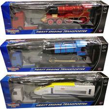 TEAMSTERZ HEAVY ENGINE TRANSPORTER TRAILER KIDS CHILDREN TOY BIRTHDAY XMAS GIFT