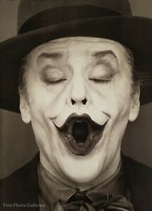 1988 Vintage JACK NICHOLSON Joker Batman Movie Actor HERB RITTS Photo Art 16x20