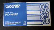 Brother PC-404RF Fax Refill Rolls. Brand New. Pack Of 3.