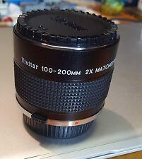 Vivitar 100-200mm 2x Matcher Multiplier