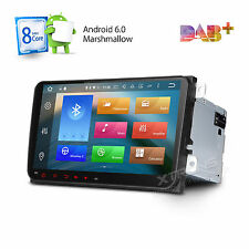 "9"" HD Touch Screen Car Stereo GPS Navi Radio Android 6.0 Octa-Core BT 4G For VW"