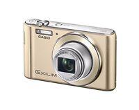 CASIO Digital Camera EXILIM EX-ZS190GD Optical Zoom 12x 16.1MP w/ Tracking