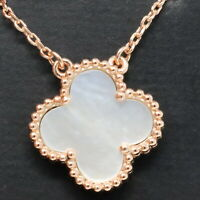 Clover 1 Motifs Necklace 18K Gold Plated