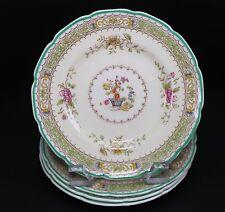 "Royal Doulton Lillian Scalloped v1022 Four Bread Plate Plates- 6 1/8"""