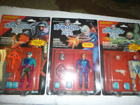 RARE Glow in the dark Robocop ultra police action figure lot kenner new moc rare