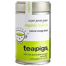 Teapigs Organic Matcha Super Power Green Tea 80g