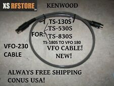 Kenwood VFO CABLE (VFO 230>130S,530S,830S),(VFO 240>530S,830S(VFO 180>TS-180S)