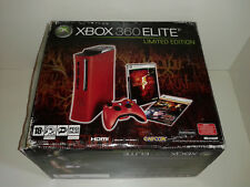 Console XBOX 360 ELITE LIMITED EDITION Resident Evil 5 Boxed & Accessories