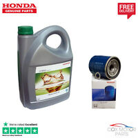 Genuine Honda Hybrid Green Oil & Filter - Civic, CRZ, Insight, Jazz