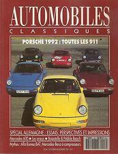 AUTOMOBILES CLASSIQUES 46 PORSCHE 964 C2 C4 RS92 ALFA ROMEO BAT 5 BAT 7 BAT 9