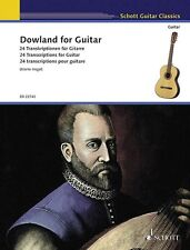 Dowland for Guitar Sheet Music 24 Transcriptions for Guitar Book New 049045500