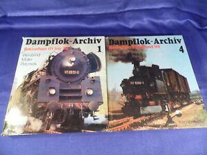 2 Bücher - Dampflokarchiv - Transpress - Baureihe 01 bis 39, 97, 98 & 99