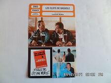 CARTE FICHE CINEMA 2003 LES CLEFS DE BAGNOLE Laurent Baffie Daniel Russo
