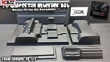 3D Universal Interior Kit BLACK Dinky R/C Door Cards Dash SIBV6 K5 Blazer SCX10