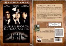 Quella Sporca Ultima Notte - Studio Classic - Raro Dvd Fuori Catalogo - Nuovo