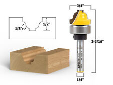 34 Faux Panel Roman Ogee Groove Router Bit 14 Shank Yonico 14979q