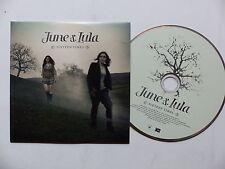 CD 5 titres JUNE & LULA Sixteen times 886976879921
