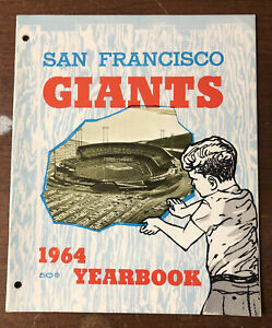 1964 San Francisco Giants Yearbook 48 Pages MLB Baseball Yearbook