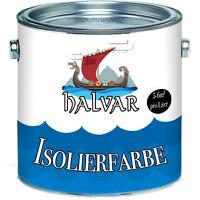 Halvar Antischimmelfarbe skandinavische Isolierfarbe Weiß Sperrgrund Wandfarbe